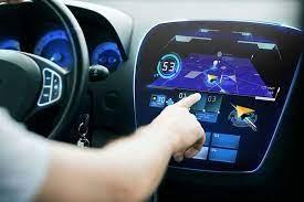 High-tech in-car image