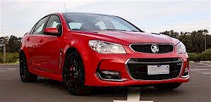 The VF Holden Commodore