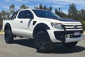 The Ford Ranger PX  2011