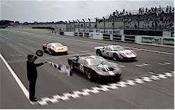 Ford Winning Le Mans