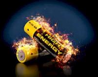 Battery Explodes