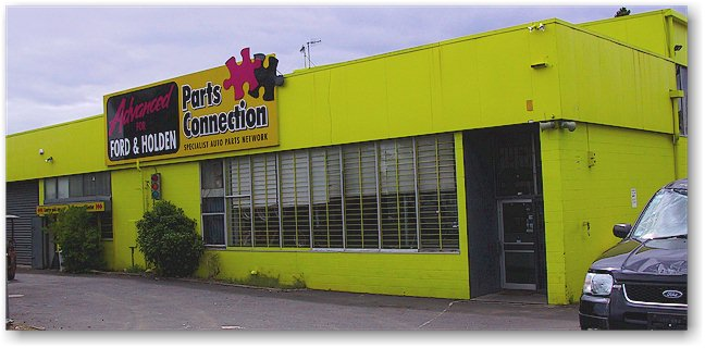 Advanced for Ford & Holden, 11 Honan Place, Avondale Auckland.