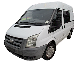 2008 Ford Transit Mk7 SWB 2.2L Manual