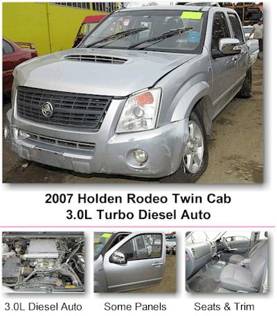 2007 Holden Rodeo Diesel