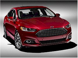 The 2013 Ford Mondeo