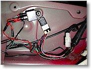Sample Door Actuator Wiring