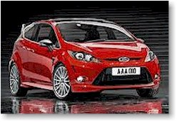 The 2012 Ford Fiesta ST