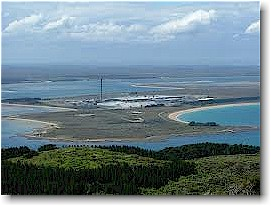 The Tiwai Point Aluminium Smelter