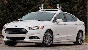 A self drive car