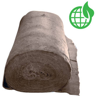 EcoWool Mulch Mat Rolls 500gsm (Biodegradable)