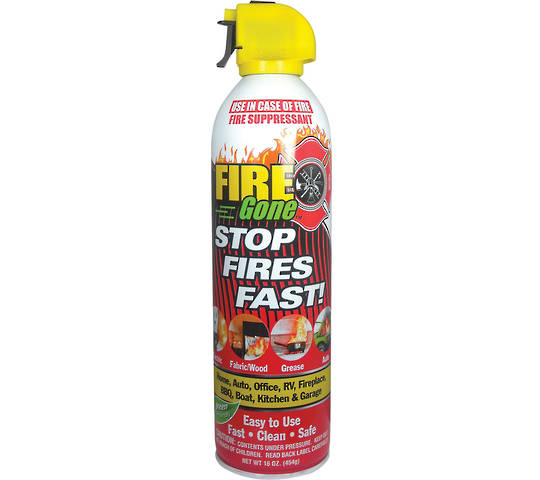 Fire Gone Aerosol Fire Extinguisher