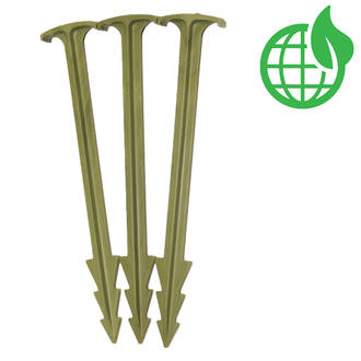 GreenStake Pins (100% Natural - Biodegradable)