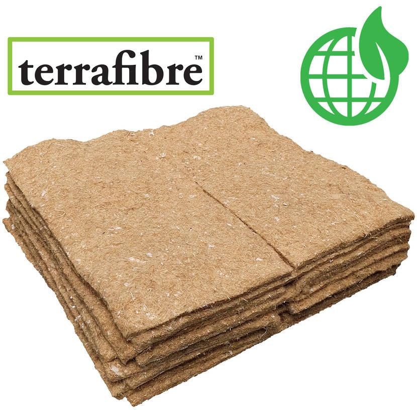 TerraFibre® Hemp Mulch Mats 500gsm (Biodegradable)