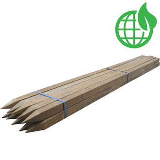 Untreated Wooden Stakes