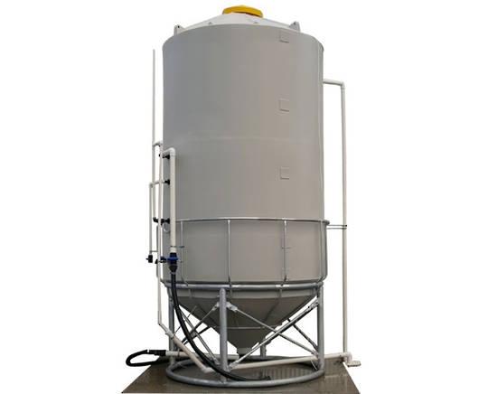 Liquid silo/tank