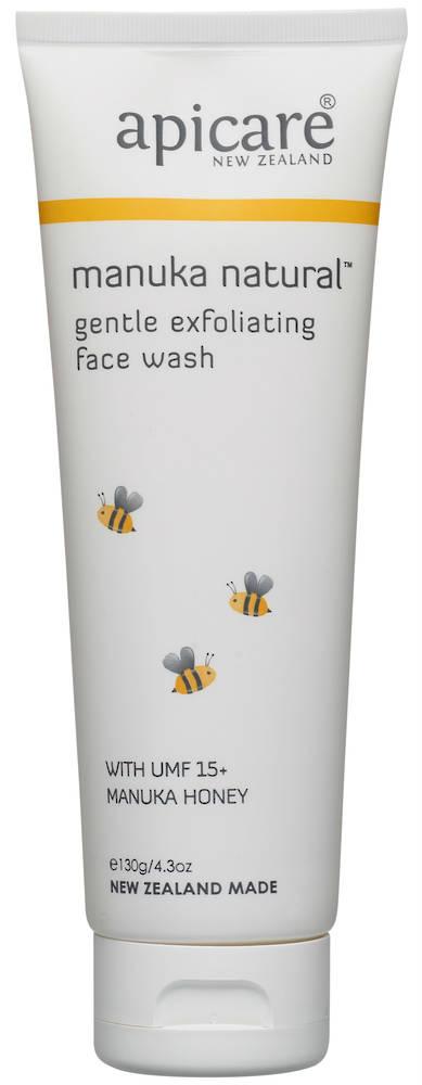 Apicare Manuka Natural Gentle Exfoliating Face Wash 130g