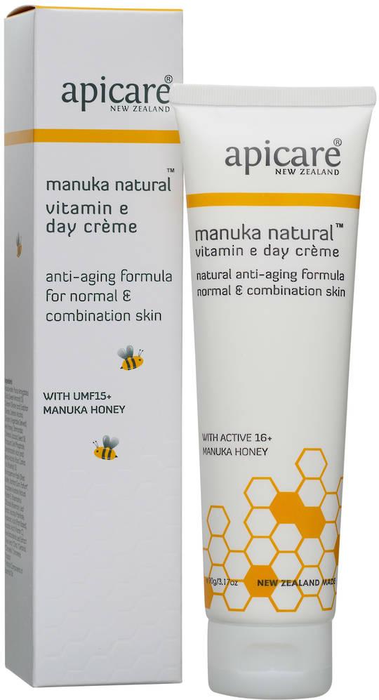 Apicare Manuka Natural Vitamin E Day Creme 90g