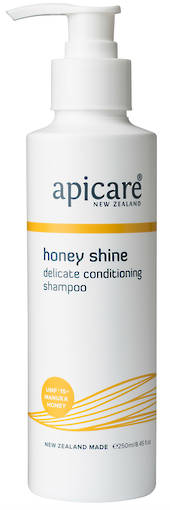 Apicare Honey Shine Shampoo 250ml