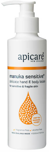Apicare Manuka Sensitive Hand & Body Lotion 200ml