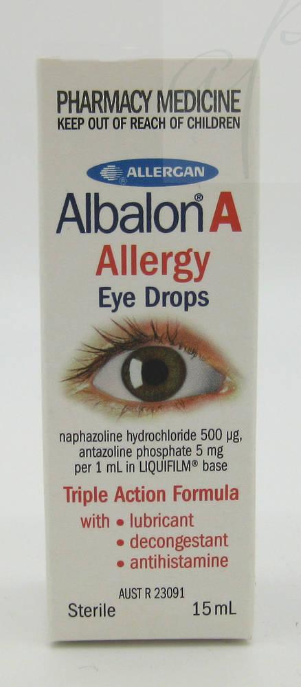 Albalon A Allergy Eye Drops