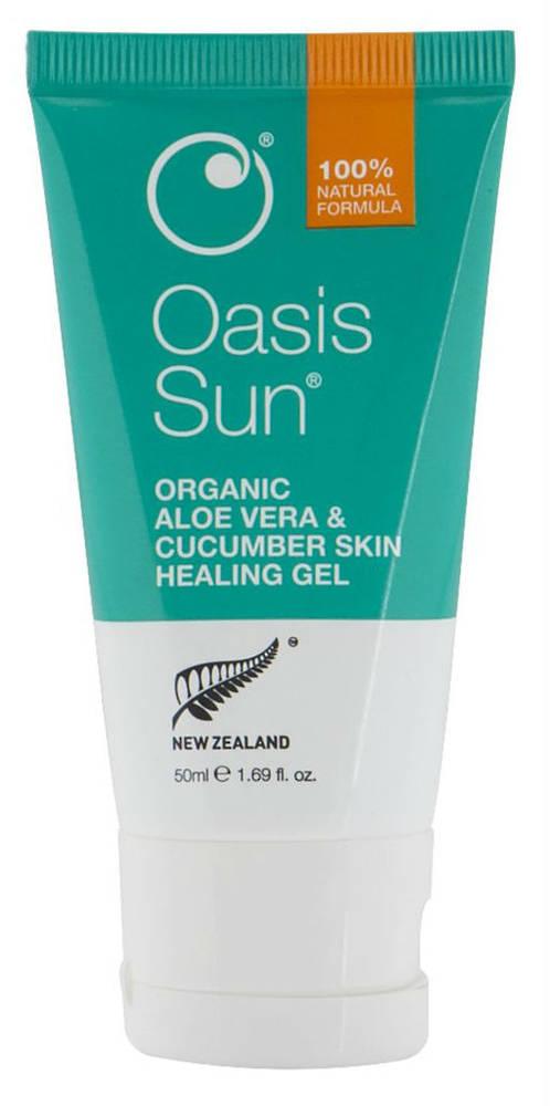 Oasis Sun Organic Aloe Vera & Cucumber Skin Healing Gel
