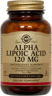 Solgar Alpha Lipoic Acid 120mg 60s