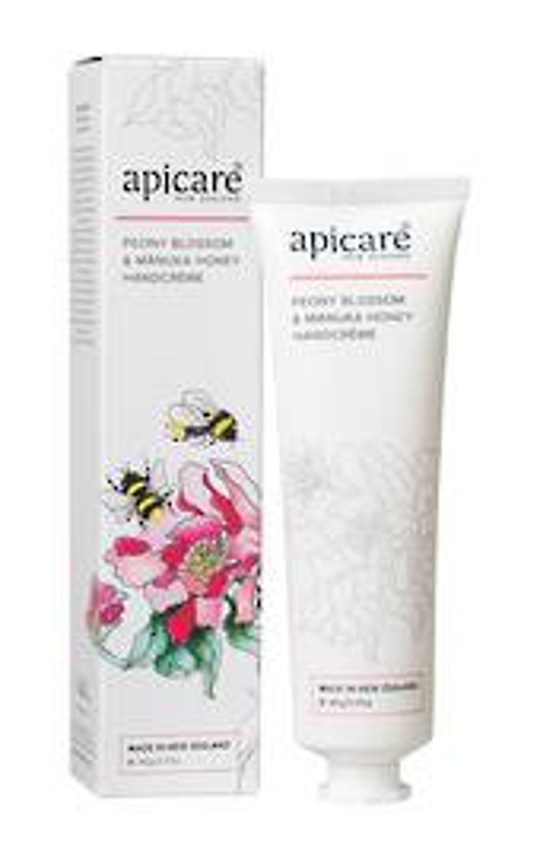 Apicare Peony Blossom & Manuka Honey Handcream 90g