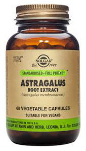 Solgar Astragalus Root Extract Vegicaps 60