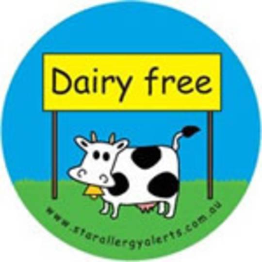 Dairy Free Badge Pack