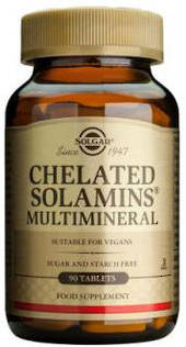 Solgar Chelated Solamins Multinineral
