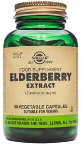 Solgar Elderberry Extract 60 Vegicaps