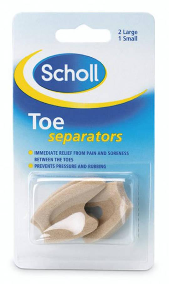 Scholl Toe Separators