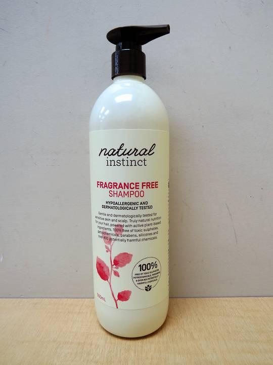 Natural Instinct Fragrance Free Shampoo 500ml