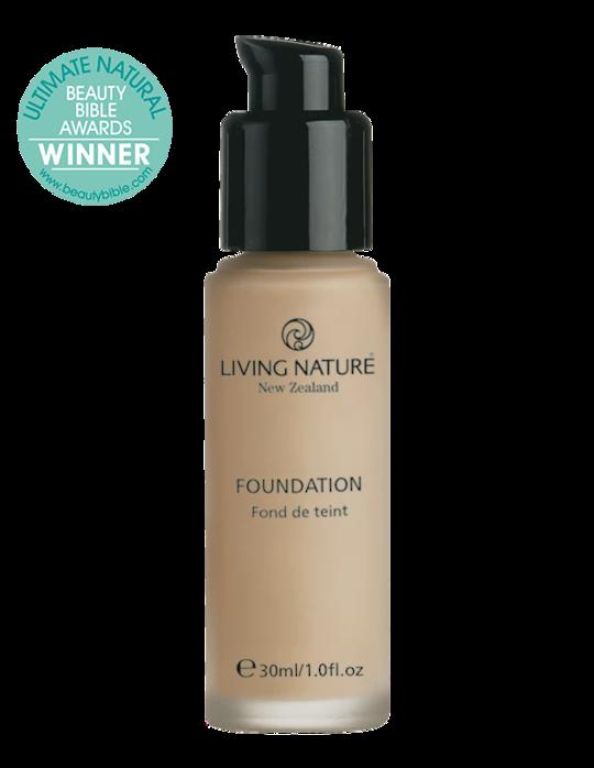 Living Nature Foundation Pure Honey 30ml