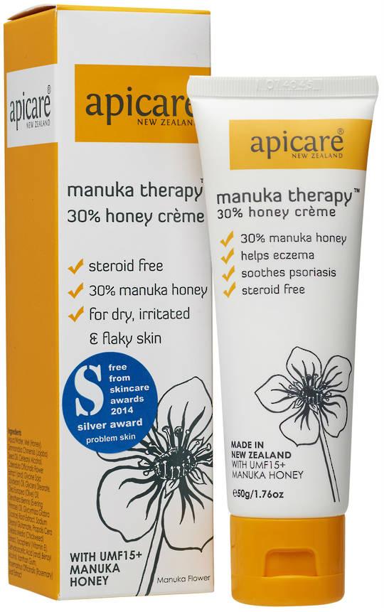 Apicare Manuka Therapy 30% Honey Creme 50g