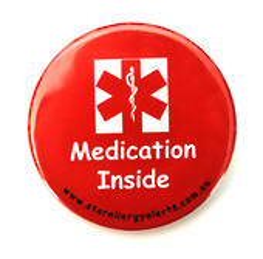Medication Inside Badge Pack