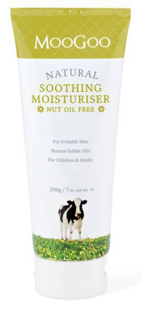 MooGoo Soothing Moisturiser - Nut Oil Free 200g