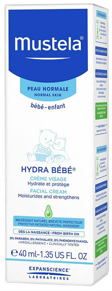 Mustela Hydra Bebe Face 40ml
