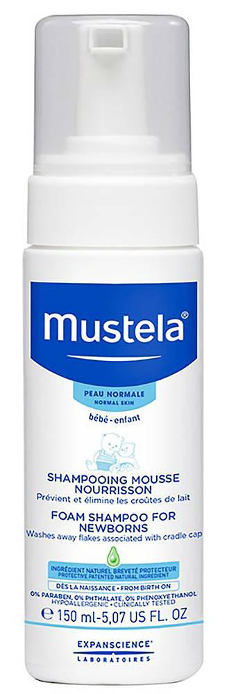 Mustela Newborn Foam Shampoo 150ml