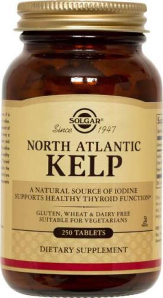 Solgar North Atlantic Kelp 250 Tablets