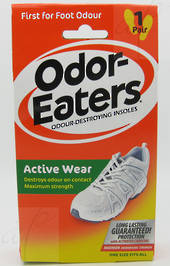Odor Eaters Active Wear Insoles