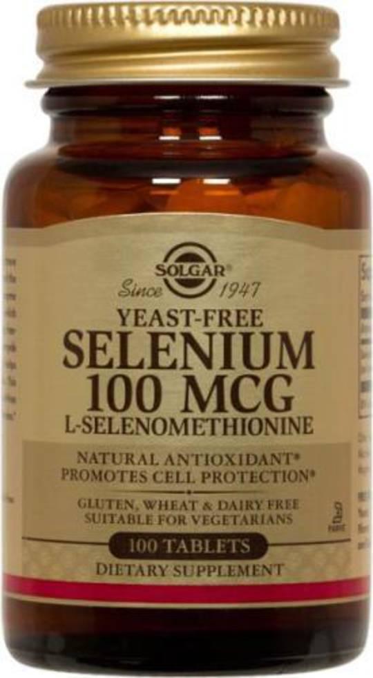Solgar Selenium 100mcg 100 Tablets