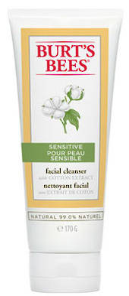 Burt's Bees Sensitive Facial Cleanser 170g
