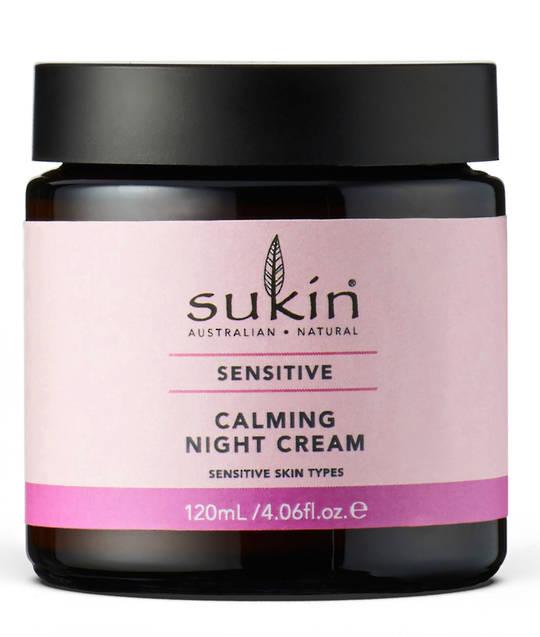 Sukin Sensitive Calming Night Cream 120ml