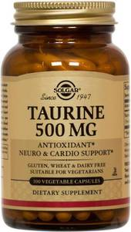 Solgar Taurine 500mg