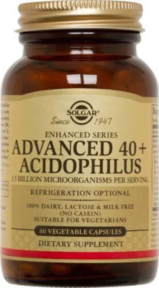 Solgar Advanced 40+ Acidophilus 60s