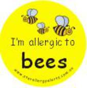 I'm Allergic to Bees Badge Pack