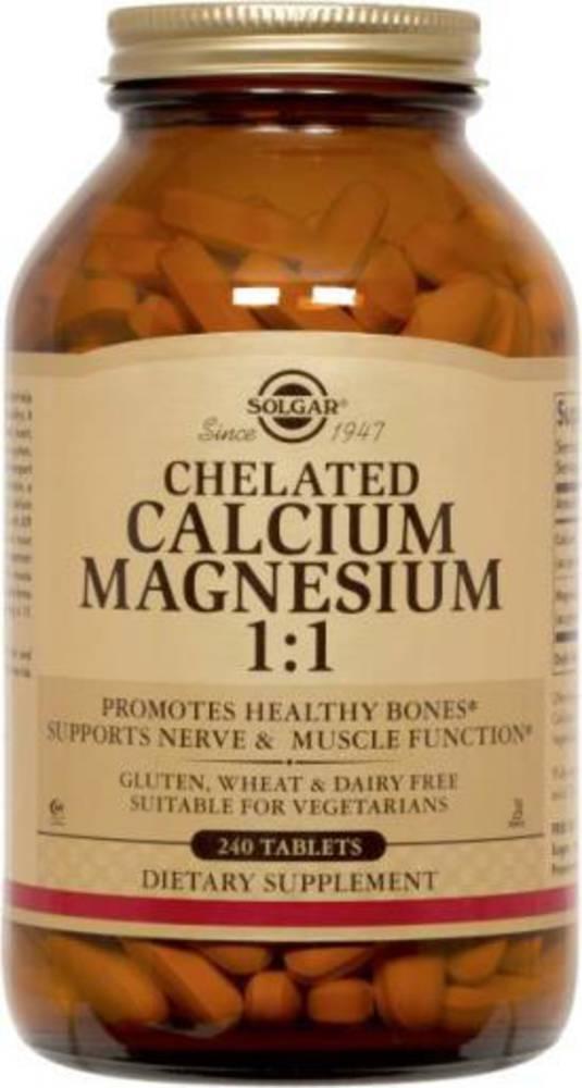 Solgar Chelated Calcium Magnesium 1:1