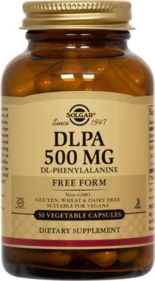 Solgar DL Phenylalanine (DLPA) 500mg 50