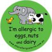 I'm Allergic to Eggs, Nuts and Dairy Badge Pack